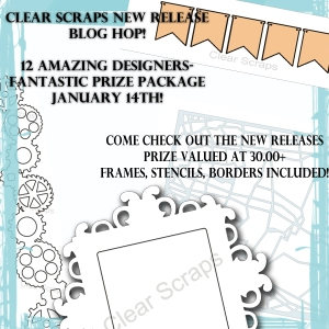 blog hop clear scraps give away