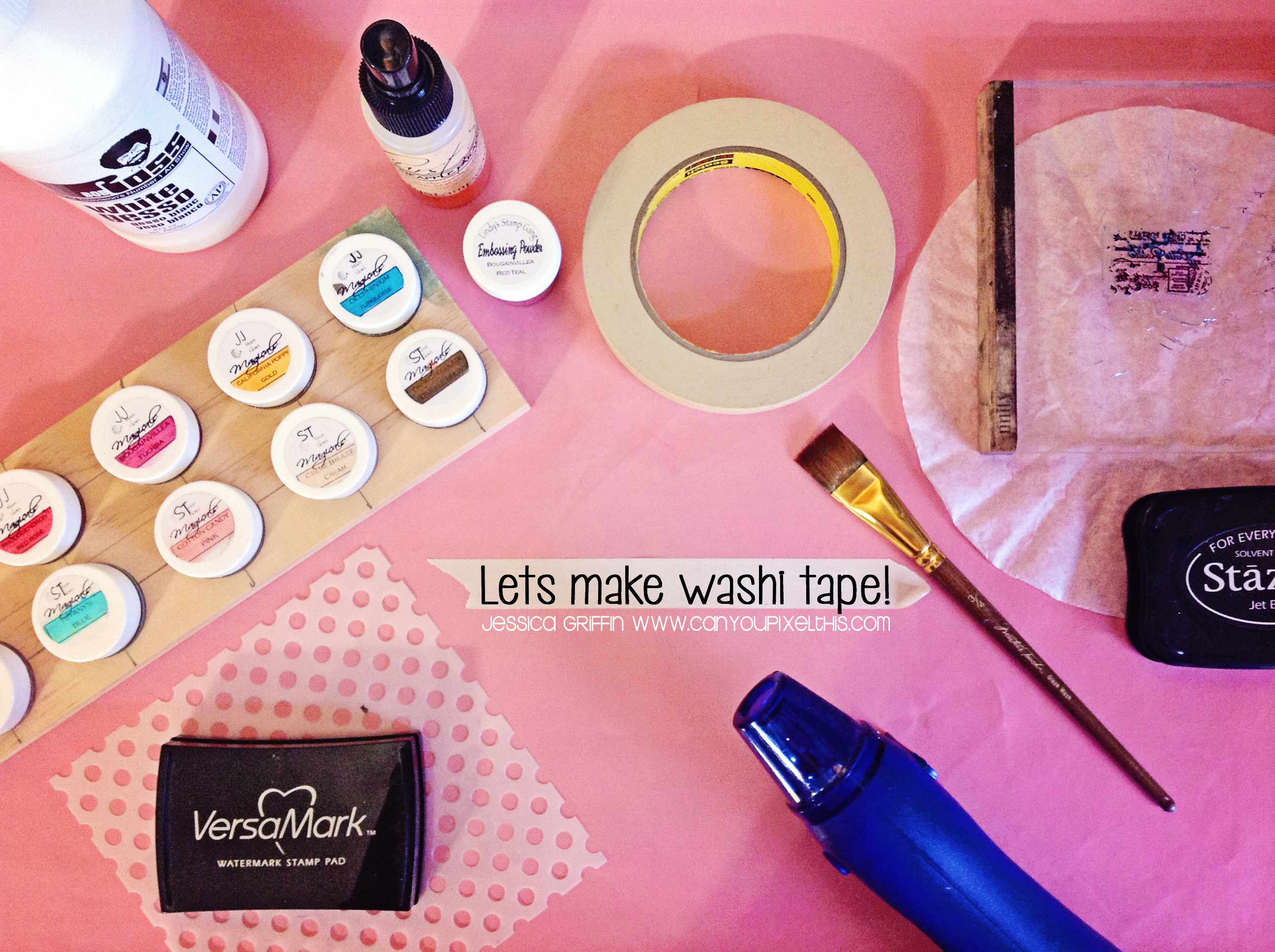 Make your own washi tape video tutorial for What can you do with washi tape