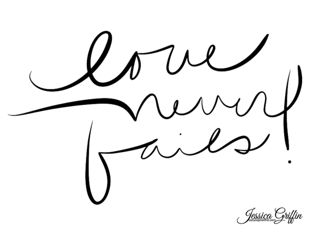 Jessica Griffin Love Never Fails brush freebie downloadable download photoshop